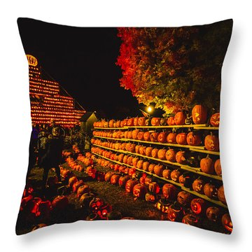 Pumpkinfest 2015 Throw Pillow