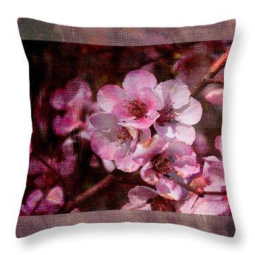 Quince Art Throw Pillow