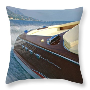 Riva Wake Throw Pillow