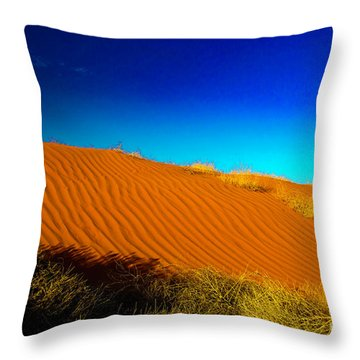 Sand Dune Throw Pillow