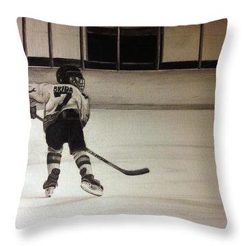 #7 Skiba  Throw Pillow