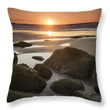 Sunset Range Throw Pillow