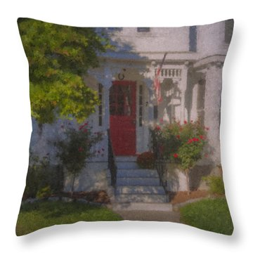 7 Williams Street Throw Pillow