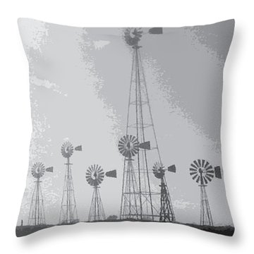 70/mph Throw Pillow
