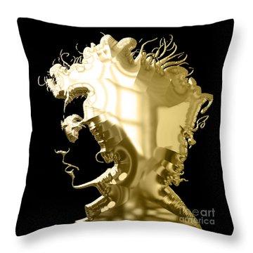 Bob Dylan Collection Throw Pillow