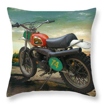 '74 Husky Throw Pillow