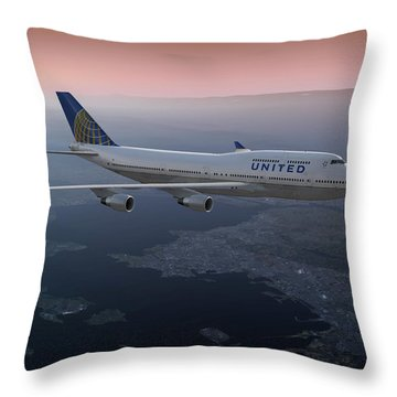 747twilight Throw Pillow