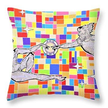 76 Aka The Gift Throw Pillow
