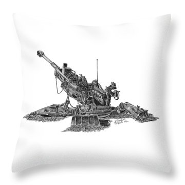 777 Throw Pillow
