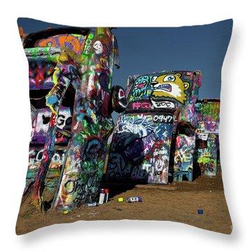 Texas 66 Throw Pillow