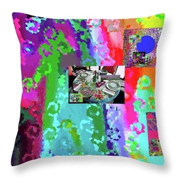 8-3-2057d Throw Pillow