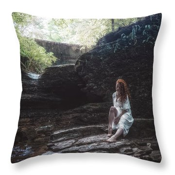 Throw Pillow featuring the photograph Aretusa by Traven Milovich