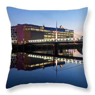 Bbc Studio's Glasgow Throw Pillow