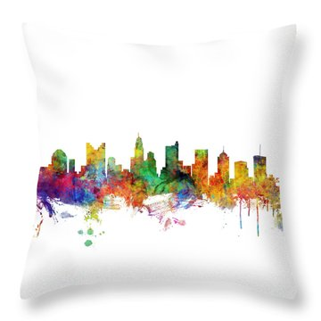Columbus Throw Pillows