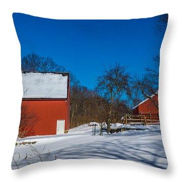 Weir Farm National Historic Site. Throw Pillow
