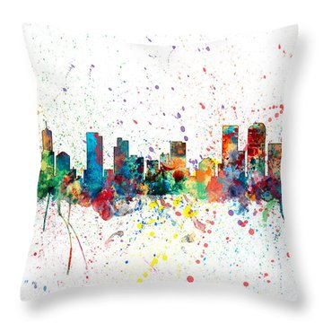 Denver City Throw Pillows