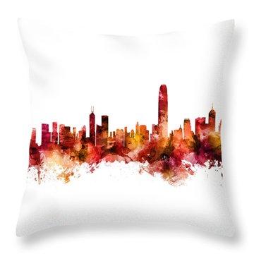 Hong Kong Throw Pillows