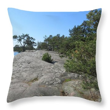 In Stendorren Nature Reserve Throw Pillow