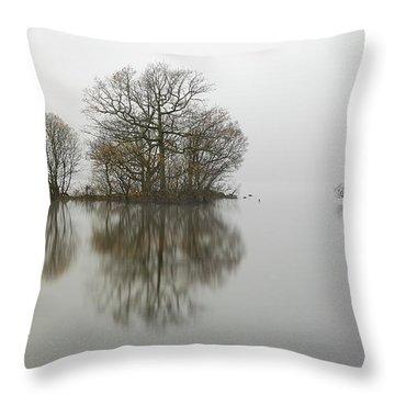 Loch Lomond Throw Pillow