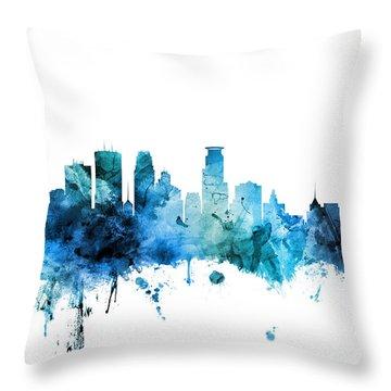 Minneapolis Throw Pillows