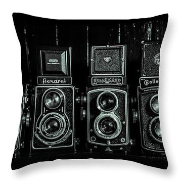 Throw Pillow featuring the photograph 8 Of The Best by Keith Hawley