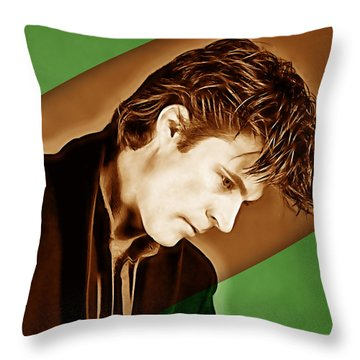 Ricky Nelson Collection Throw Pillow