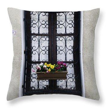 8 Rue Amboise Throw Pillow