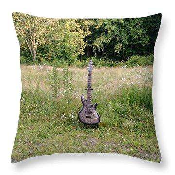 8 String Esp Ltd Jr608 2 Throw Pillow