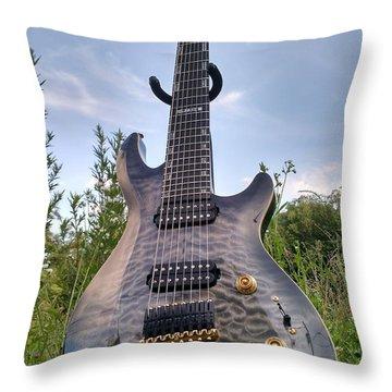8 String Esp Ltd Jr608 Throw Pillow