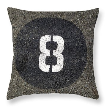 8 Throw Pillow