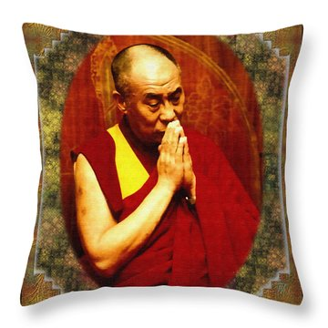 80 Years Of Contemplation Throw Pillow