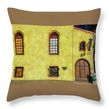 830 At 240 Throw Pillow by Paul Wear