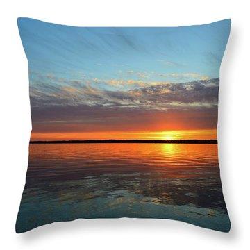 8.57 Pm June 8-2017  Throw Pillow