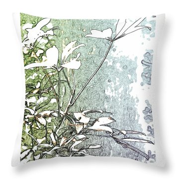 #88 Throw Pillow
