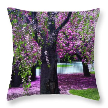 Sublime Spring Throw Pillow