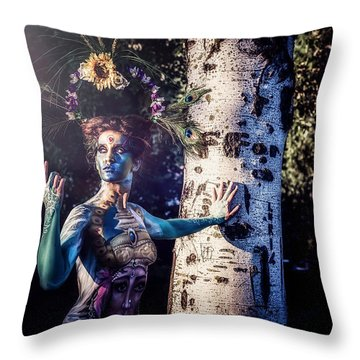 Throw Pillow featuring the photograph .. by Traven Milovich