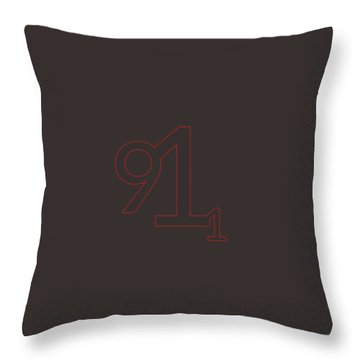 Throw Pillow featuring the mixed media 9 11 by TortureLord Art