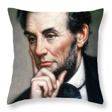 Abraham Lincoln 16th American President Throw Pillow