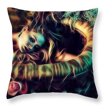 Adele Collection Throw Pillow