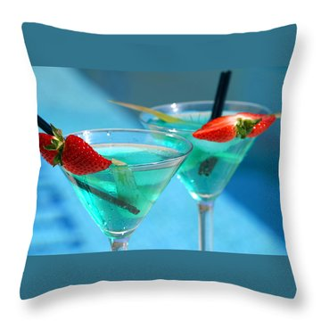 Martini Throw Pillows