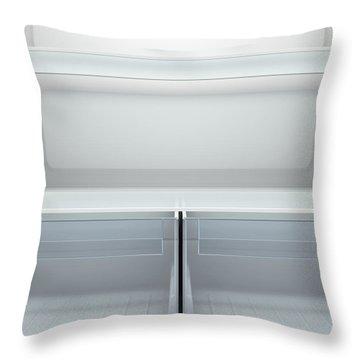 Fridge Interior Throw Pillow