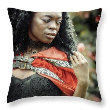Got Warrior Princess Throw Pillow