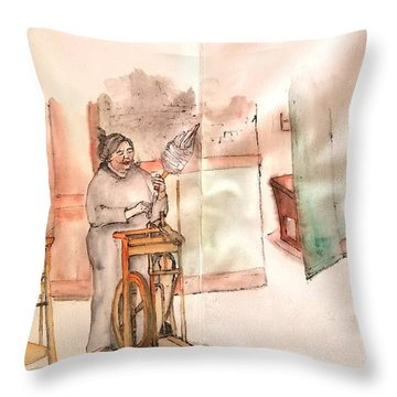Italy The Red And Green Album  Throw Pillow