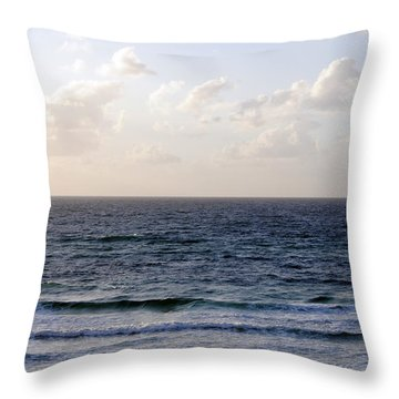 Jaffa Beach 1 Throw Pillow