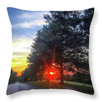 9 June 16 Rowing Club Throw Pillow
