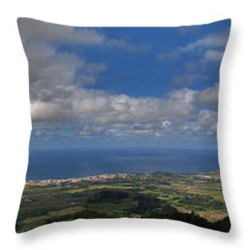 Landscapespanoramas Throw Pillow