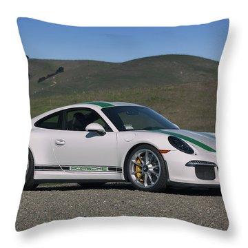 #porsche #911r #print Throw Pillow