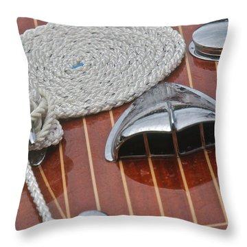 Riva Aquarama Throw Pillow