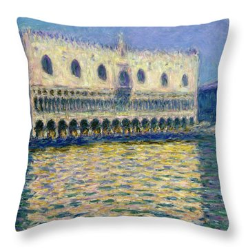 The Doge's Palace Throw Pillow