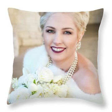90_7924_b1 White_pp Throw Pillow by D Wallace